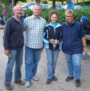 Günter Krohmer (Neuffen), Andi Alt (Grafenberg), Annet Sturz (Mühlacker), Edith Neumeister (Mühlacker)