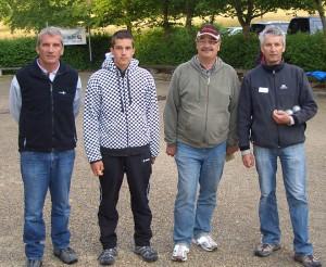 Eddi Röschel (Neuffen), Lukas Röschel (Neuffen), Horst Meinhardt (Weinstadt), Walter Roth (Schorndorf)