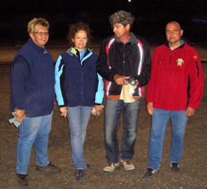 Annet Sturz (Mühlacker), Edith Neumeister (Mühlacker) Johannes Grieray (Illingen), Ralf Zimmermann (Ruit)