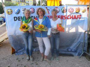 Team BaWü 10 Gudula Hammer, Katrin Schwinger und Brigitte Knapp