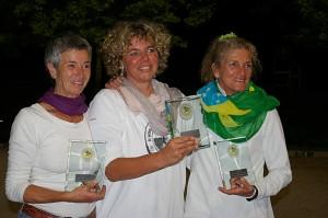 von links: Brigitte Knapp, Kathrin Schwinger, Gugi Hammer
