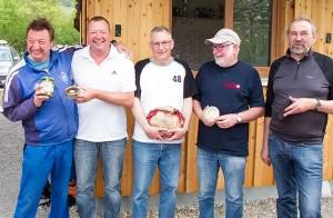 Max, Armin, Richard, Werner, Hemedt