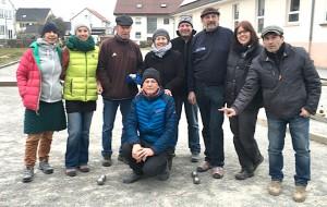 Renate, Brigitte, Günter, Tony, Marjana, Jürgen, Hemedt, Ulla und Mille